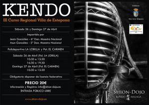 III Curso Regional de Kendo Villa de Estepona